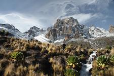 Fresh Snow On Mount Kenya