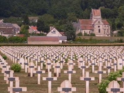 Church And French Military Cemetery