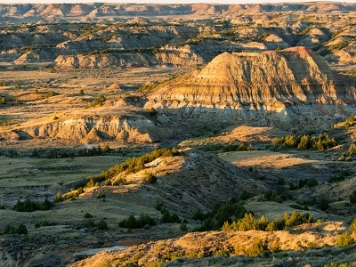 From Painted Canyon Overlook - TRNP - North Dakota