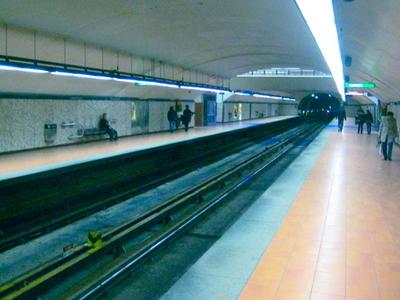 Frontenac Metro Station