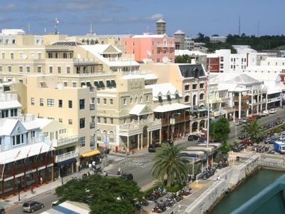 Front Street Hamilton Bermuda