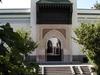 Front View Of Paris Mosque