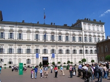 Front View Of The Palace