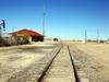 Restored Rail Depot On Abandoned Track