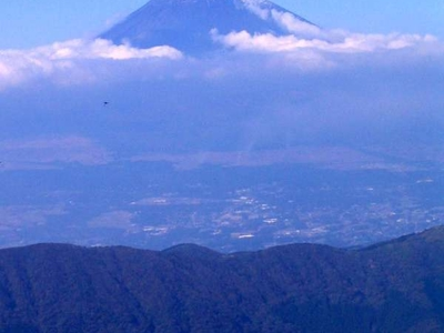 Fujisan From  Kamiyama