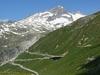 Furka Pass At Berge Mountains - Swiss Alps