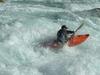 A Kayaker On Futaleufu River