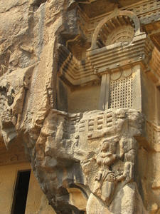 Facade Of The Caves
