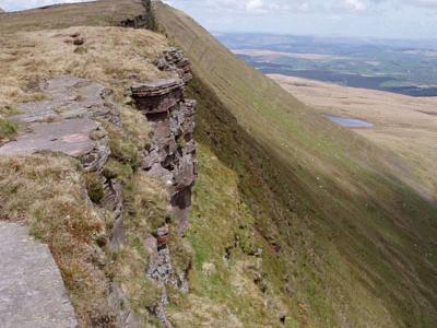 Fan Hir Summit Ridge