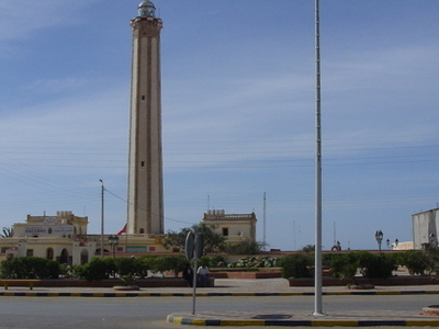 Lighthouse In Modern Day Bojador