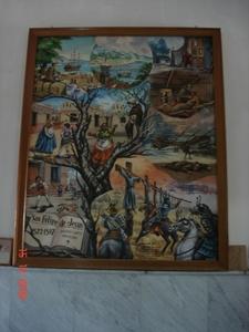 Picture Featuring The Life Of San Felipe De Jesus