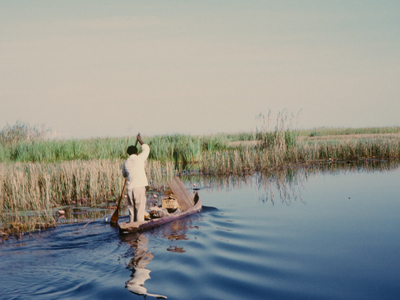 Fisherman  Lukanga  Swamp