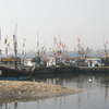 Fishing Botes In Versova