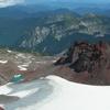 Flett Glacier With Echo Rock