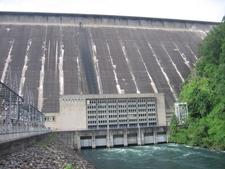 Fontana Dam And Powerhouse