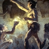 Cro-Magnon Artists Painting In Font-de-Gaume