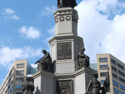 Michigan Soldiers' And Sailors' Monument
