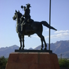 Statue Of Cavalry Soldier