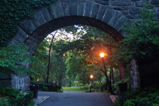 Archways Under Linden Terrace