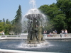 Fountain In Detroit Zoo