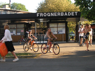 Entrance Of Frognerbadet