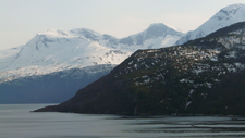 Frostisen Summits Above Skjomen