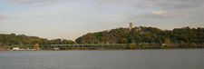 Park From The Hudson River