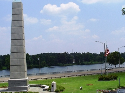 Gadsden  Spirit Of  American  Citizenship  Monument  With  Coosa