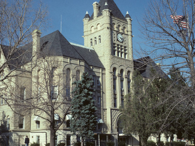 Gage County Courthouse In Beatrice