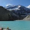 Gangapurna Glacial Lake View - Annapurna Region Nepal