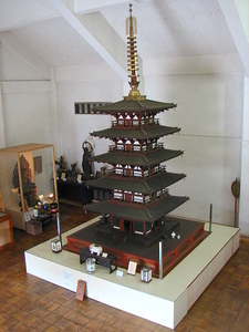 Gangoji Miniature Pagoda