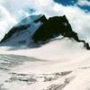 Gannett Glacier On The North Side Of Gannett Peak