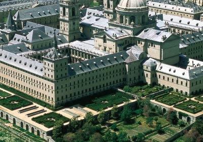 Gardens Of The San Lorenzo Monastery In El Escorial