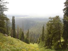 Garnet Canyon Trail - Grand Tetons - Wyoming - USA