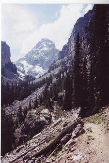 Garnet Canyon Trail Views- Grand Tetons - Wyoming - USA