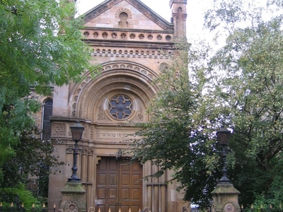 Garnethill Synagogue In Glasgow