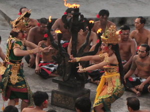 Uluwatu Sunset With Kecak & Fire Dance - Indonesia Photos
