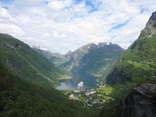 Geiranger Dorp En Fjord