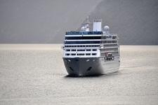 Geiranger Fjord - Cruise Ship