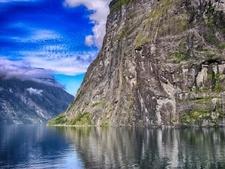 Geiranger Fjord Landscape - Norway