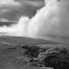 GenGeyser-3 For Narcissus Geyser - Yellowstone - USA