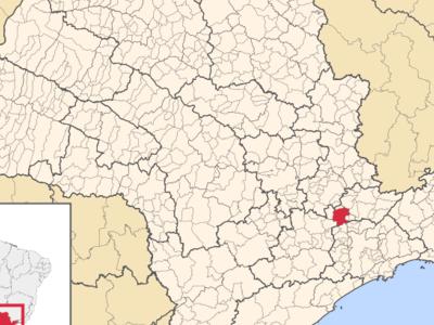 Geographical Location Of Jundiai