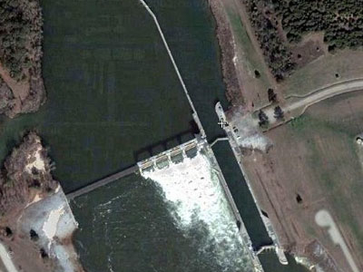 George W Andrews Dam