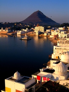 Ghats At Pushkar Lake