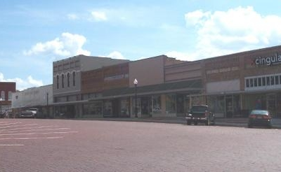 Downtown Gilmer, Texas