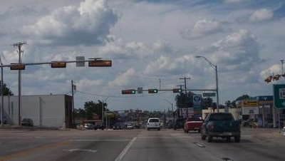 Main Highway In Gilmer, Texas
