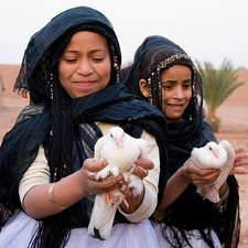 Girls From M'Hamid - Morocco