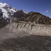 Glacial Flow Into Gangapurna Lake - Sagarmatha NP Nepal