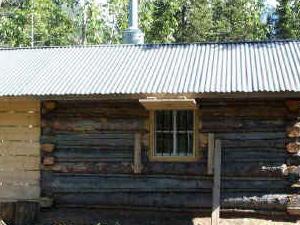 Glacier Creek cabina y pista de aterrizaje