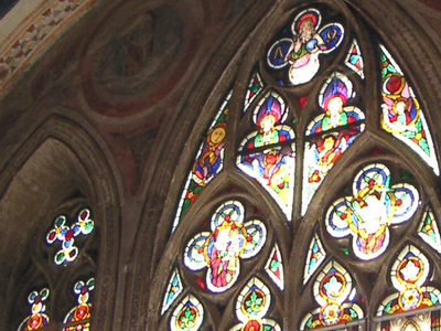Glass Paintings In The Gurk Cathedral